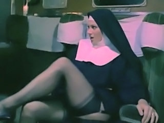 European Italian Legs  Nun Pornstar Stockings Uniform Vintage