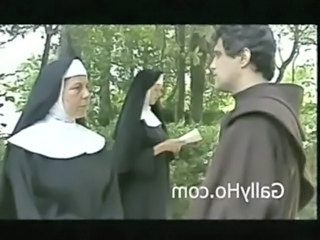 Mature Nun Outdoor Threesome Vintage