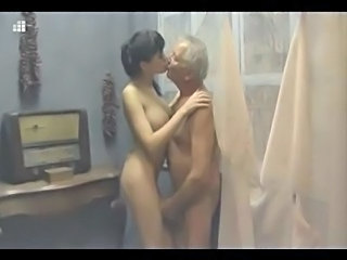 Babe Big Tits Kissing Old and Young Vintage