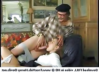 Blowjob Clothed Daddy Daughter Old and Young Teen Vintage
