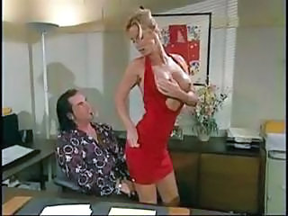 Amazing Big Tits Blonde  Office Secretary Vintage