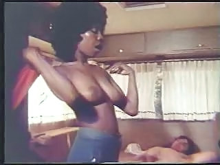 Ebony Interracial  Natural Vintage
