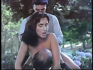 Babe Brunette Double Penetration Hardcore Outdoor Threesome Vintage