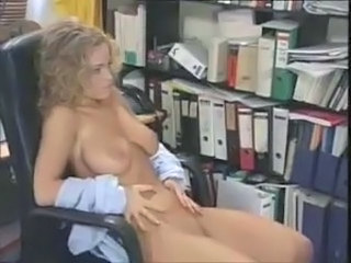 Babe Big Tits Office Pornstar Vintage