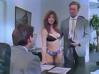 Amazing Lingerie  Office Threesome Vintage