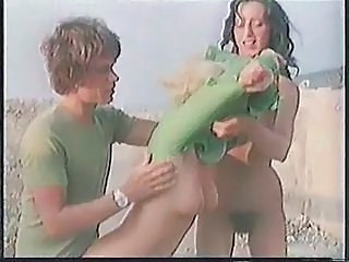 Outdoor Teen Threesome Vintage