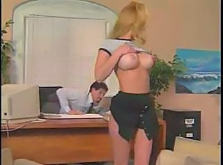 Big Tits Casting Office Vintage