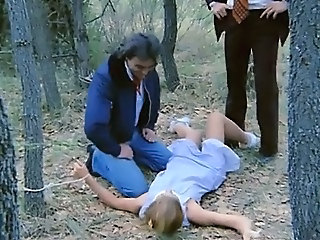 Bondage Forced Outdoor Teen Vintage