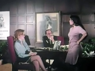 Office Threesome Vintage