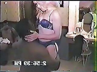 Interracial Lingerie Vintage Wife