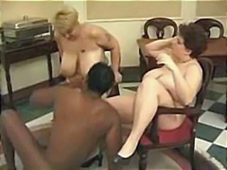 Big Tits Interracial Mature Threesome Vintage