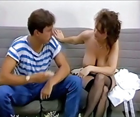 Big Tits  Mom Natural Old and Young Stockings Vintage