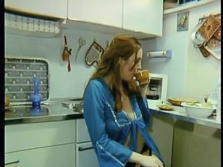 European German Kitchen  Redhead Vintage