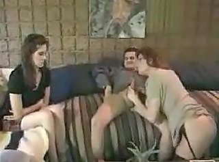 Blowjob Daughter Family  Mom Old and Young Threesome Vintage