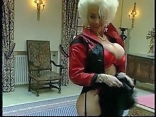 Amazing Big Tits Blonde Latex  Pornstar Vintage