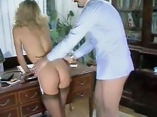 Ass  Office Secretary Stockings Vintage