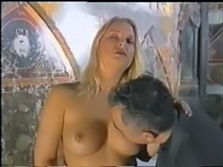 Babe Blonde Daddy European Italian Old and Young Vintage