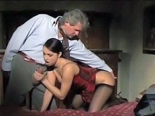 Blowjob Daddy European Italian Old and Young Stockings Teen Vintage