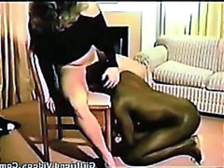 Interracial Licking  Vintage