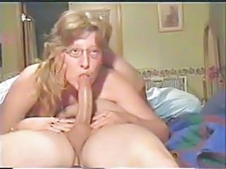 Blowjob Glasses Mature Vintage