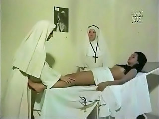 Nun Threesome Vintage