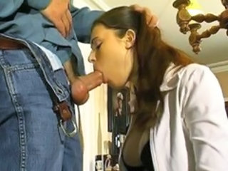 Deepthroat European Teen Vintage