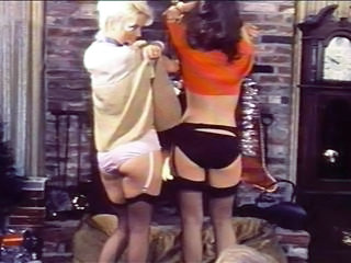 Panty Stockings Stripper Vintage