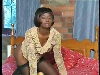 Ebony  Stockings Vintage