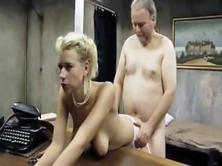Babe Daddy Doggystyle Old and Young  Secretary Vintage
