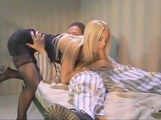 Blowjob  Pornstar Stockings Vintage