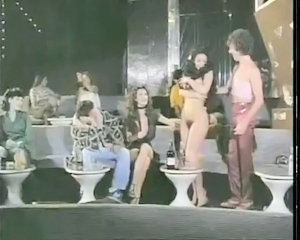 Hairy Party Stripper Vintage
