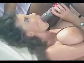 Blowjob Cumshot Interracial  Pornstar Swallow Vintage
