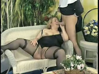 Blowjob Mature Stockings Vintage