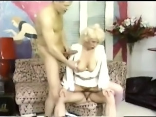 European French Mature Threesome Vintage