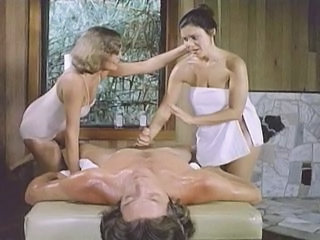 Handjob Massage  Threesome Vintage