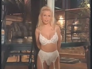 Amazing Big Tits Blonde Lingerie  Vintage