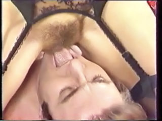 Facesitting Hairy Lingerie Licking Pornstar Vintage