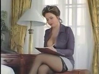 Big Tits European  Pornstar Stockings Vintage