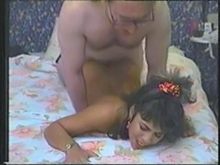 Daddy Daughter Doggystyle Old and Young Teen Vintage