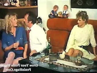 Daddy Drunk European German Old and Young Teen Threesome Vintage