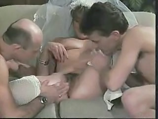 Bride Cuckold Hairy Threesome Vintage