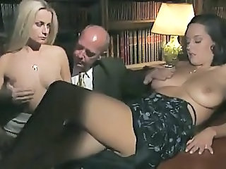 Babe Big Tits European Italian Threesome Vintage