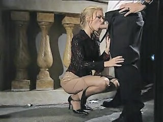 Blowjob Clothed  Pornstar Vintage