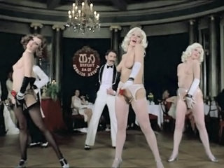 Dancing  Party Public Stockings Vintage