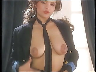 Amazing Big Tits  Natural Pornstar  Stripper Uniform Vintage