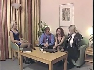 European German Groupsex  Stockings Vintage