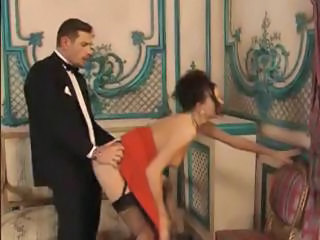 Clothed Doggystyle  Pornstar Stockings Vintage