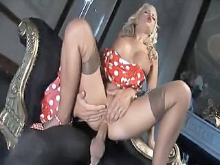 Amazing Anal Hardcore  Pornstar Riding Stockings Vintage